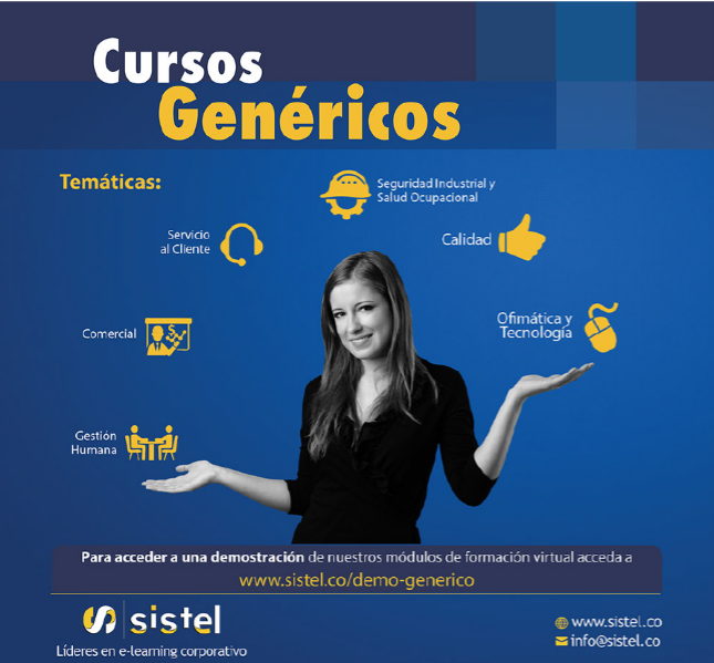 Información Cursos genéricos Sistel