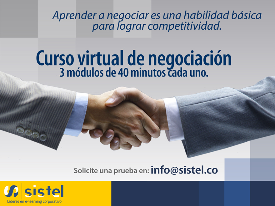 Curso virtual de negociación