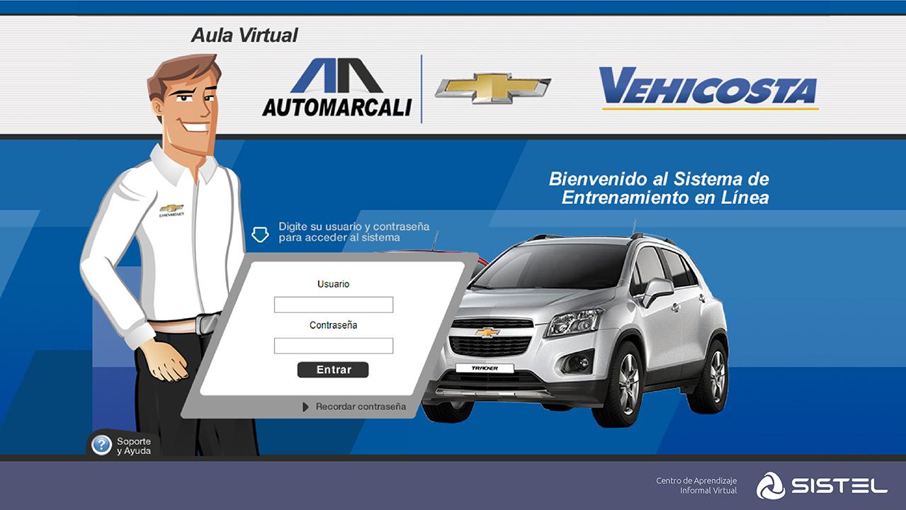 Aula Virtual Automarcali Sistel