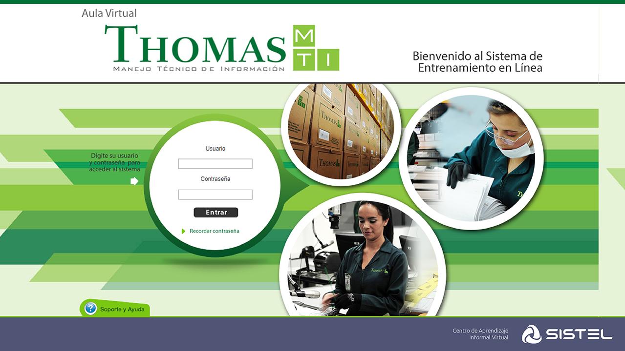 Aula Virtual Thomas Sistel